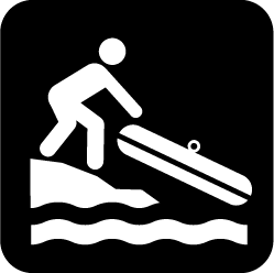 Kayak/canoe launch