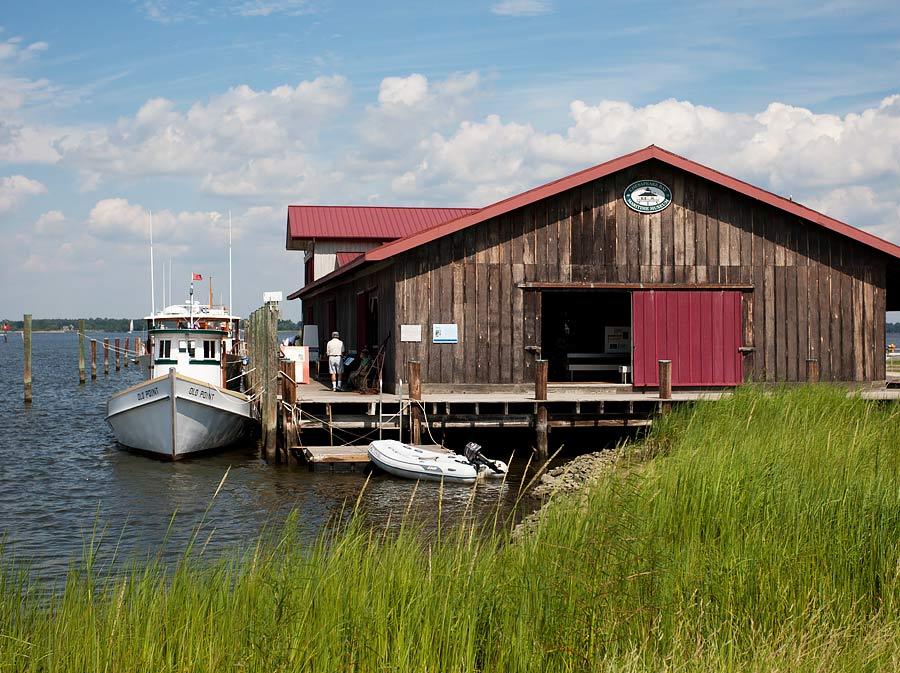 Chesapeake Bay Maritime Museum (image courtesy Michael Land)