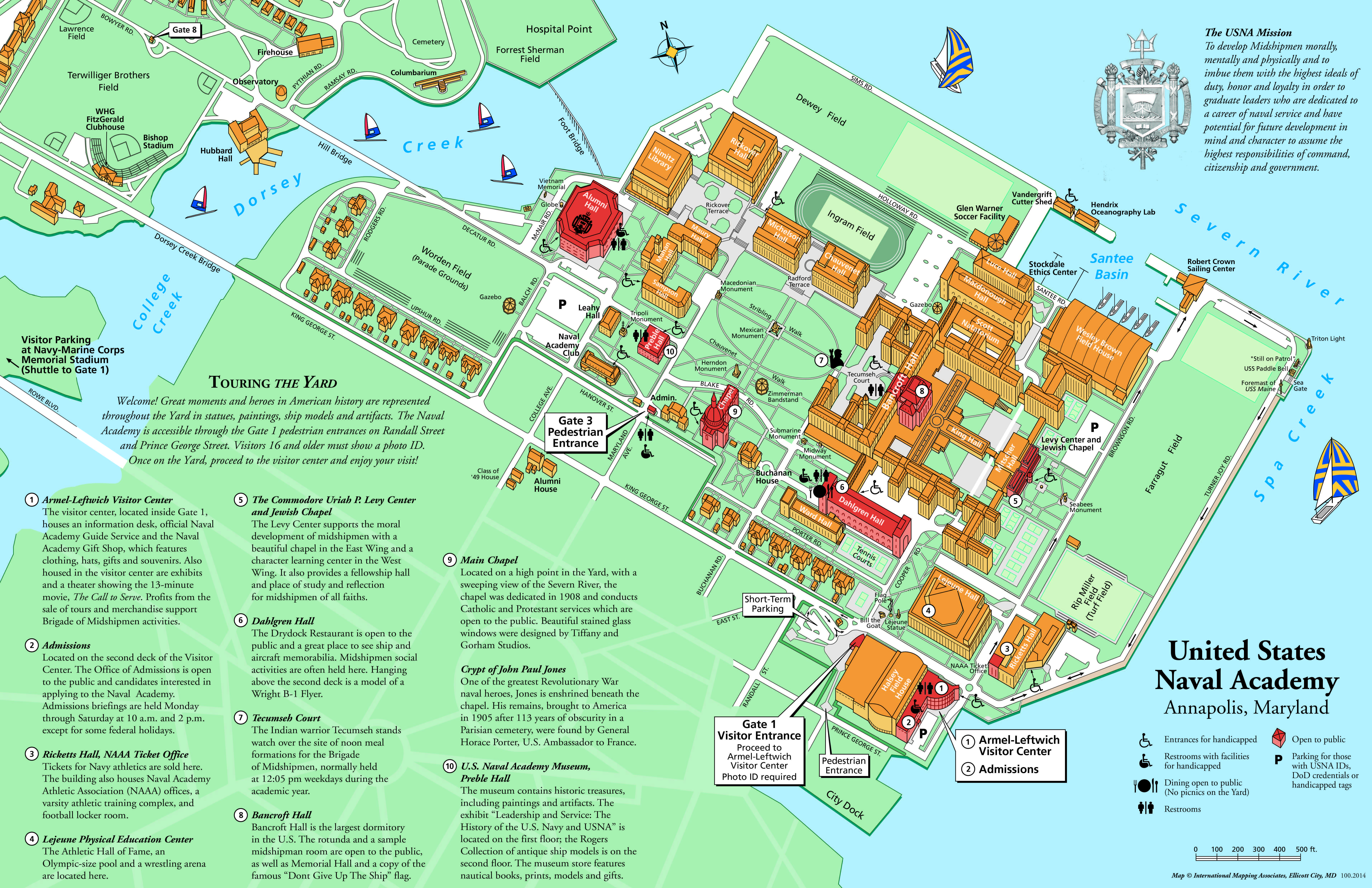 us naval academy campus map Naval Academy Map Campus us naval academy campus map