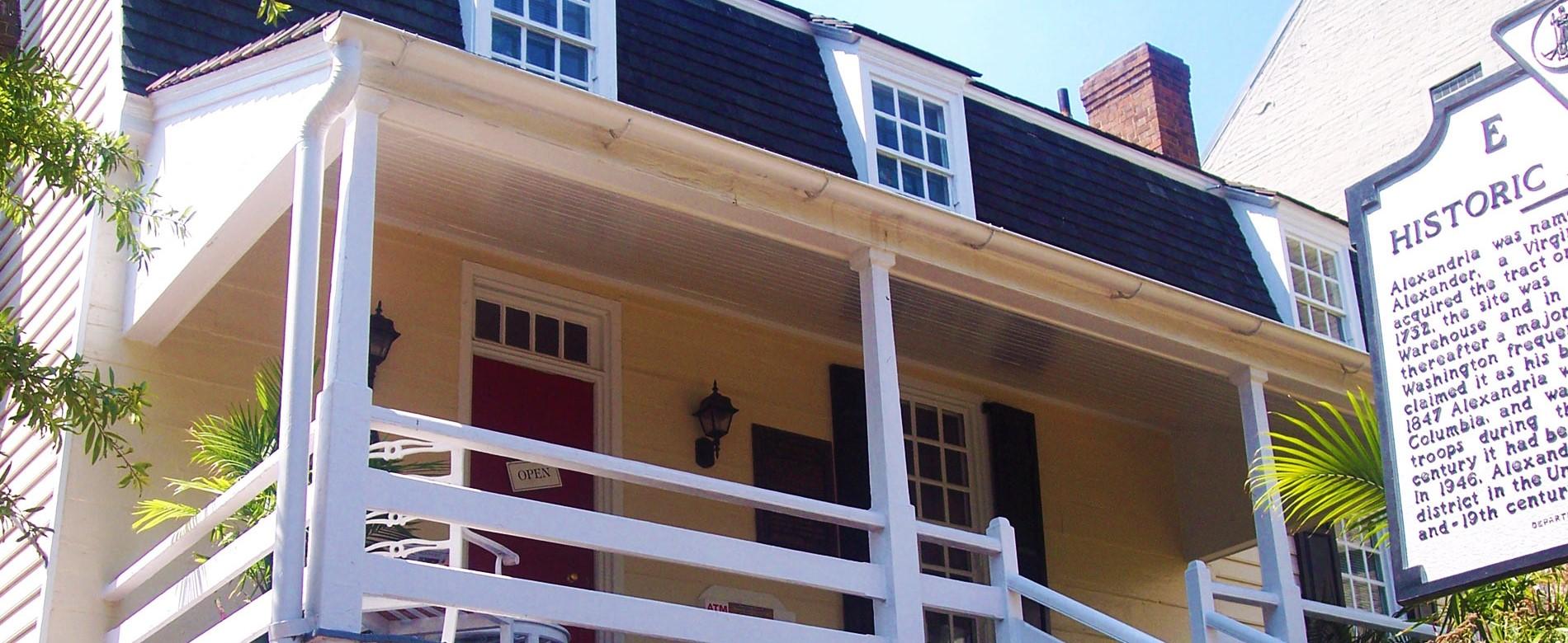 Alexandria Visitors Center at Ramsay House